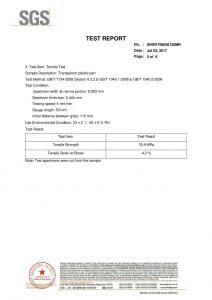 SGS сынақ сертификаты EN