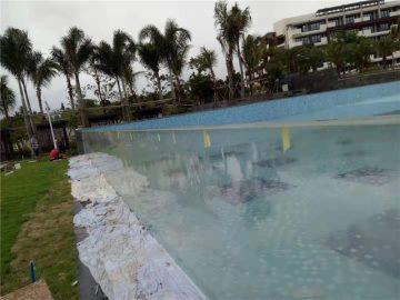ашық акрил бассейнінің панельдерін қолдануға арналған