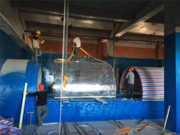аквариум пластик аквариум акрилді жобасы туннельі