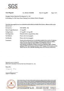 ROHS Тесттік Сертификат EN