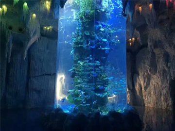 үлкен аквариум үшін мөлдір акрил панельдері, балық танкілері